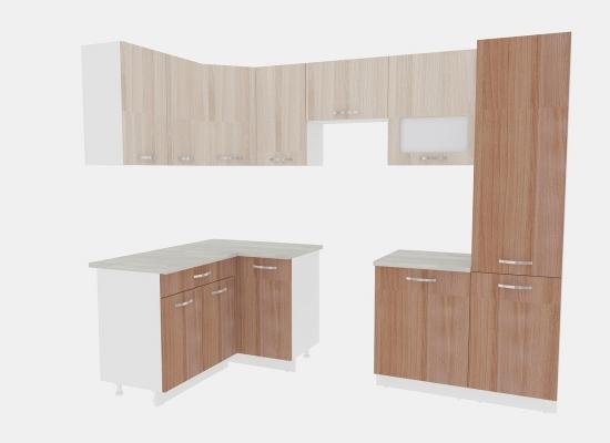 Кухня Эко 6 - 1,4х2,7