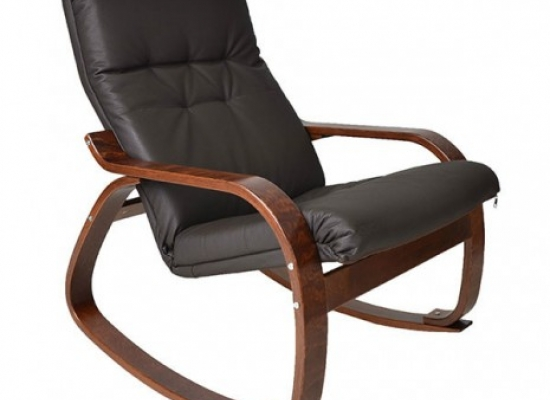 Кресло-качалка - модель Сайма экокожа
