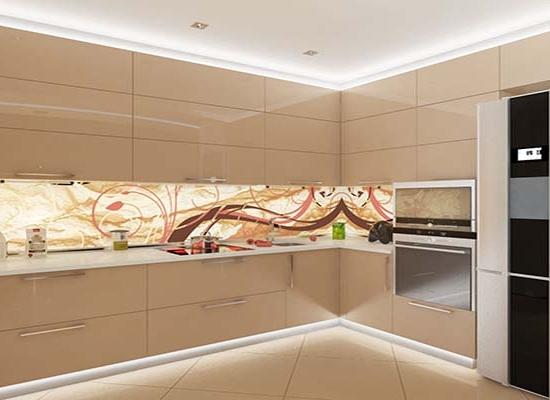 Кухня Акрил-5 какао