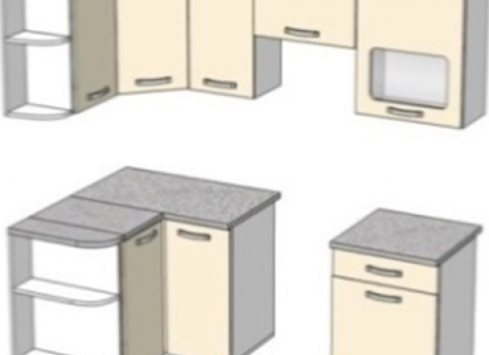 Кухня Эко 5 - 1,2х2,1