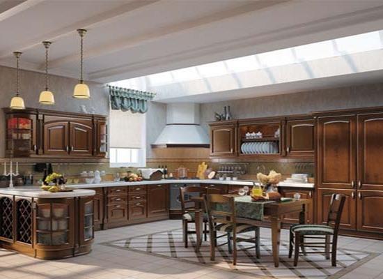 Кухня, т307 ольха, масив, зов, мебельмакс, мебель