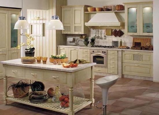 Кухня массив ясеня т508 ясень