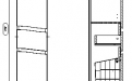 61.12 (10) Шкаф 35 Фиджи с ящиком и корзиной L/R